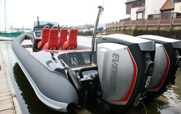 Scorpion RIB Evinrude G2 test