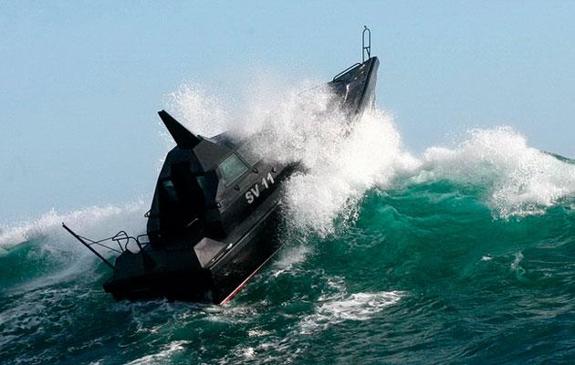 Barracuda SV11 - sea trial
