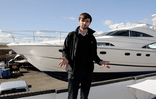 Fairline Squadron 58 Used Boat video