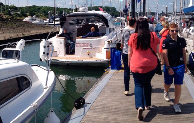 East Anglian Boat Show 2014