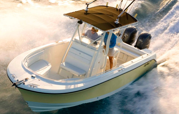 EdgeWater 245CC Mark Rubio boat