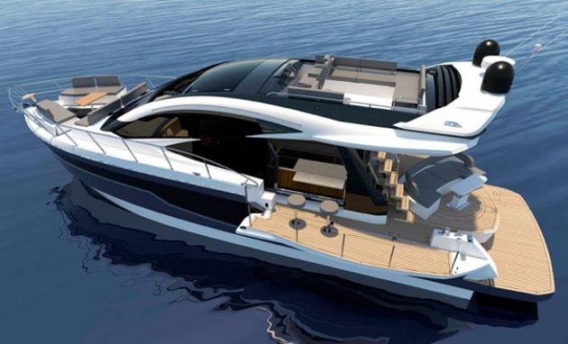 Galeon Yachts 510 Skydeck - portside still