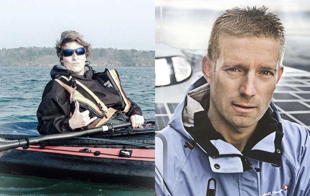 Northwest Passage kayak team