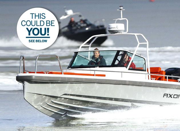 Sportsboat sea trial