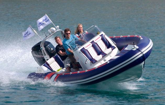 Cobra 7.6 RIB to star in MBY reader sea trial