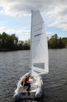 F-RIB 460RS under sail option 1