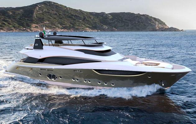 Monte Carlo Yachts 105 - running shot