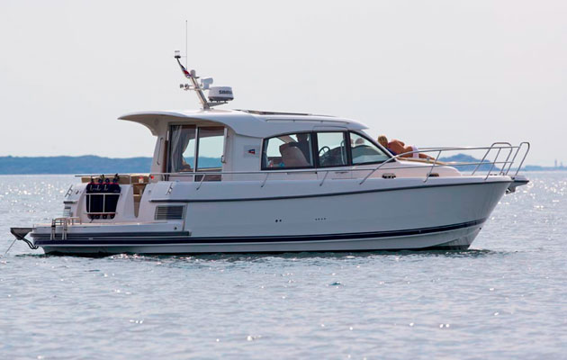 Nimbus 365 Coupe hybrid boat base vessel