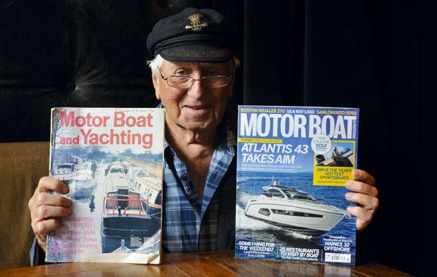 Ray Bulma steam powered raceboat