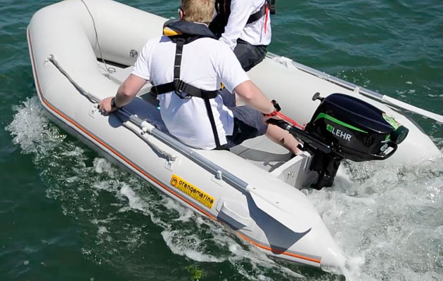 5hp outboard group test video