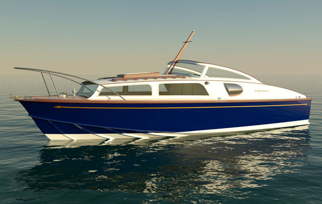 Fairey Marine reveals plans to revive Huntsman - Motor Boat & Yachting