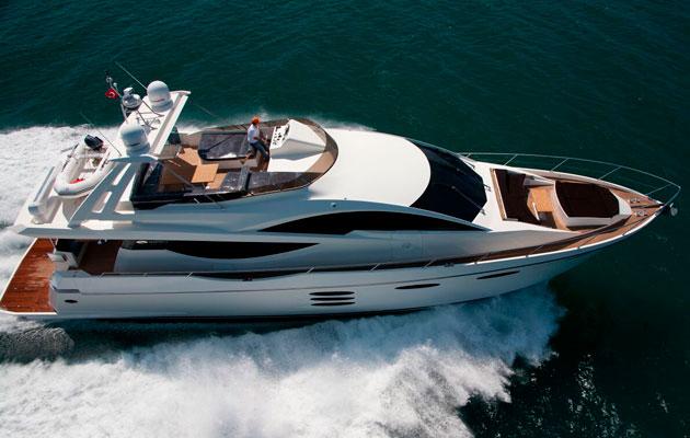 Numarine 78 Fly American charter boat