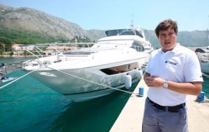 Prestige 680 sea trial video