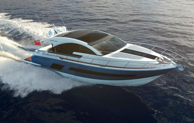 Fairline Targa 53 Southampton Boat Show