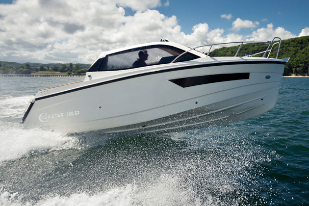 The Corsiva topped 30 knots with ease on test
