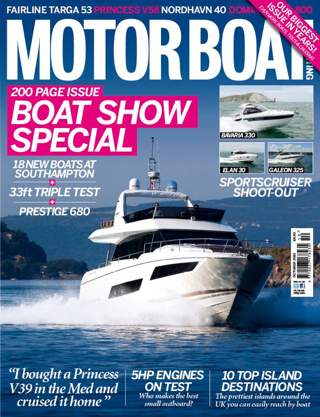 Motor Boat & Yachting October 2015