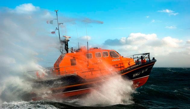 RNLI Tamar class lifeboat from Kilmore Quay