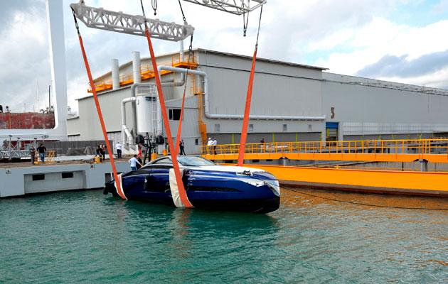 Franck Muller Yachts 55 - launch