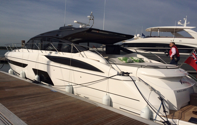 Princess V58 Open due to go on show at the 2016 Pre-Season Boat Show