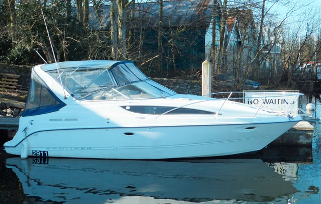 Arniston - the Bayliner 285 at the centre of a manslaughter trial, Windermere boat deaths