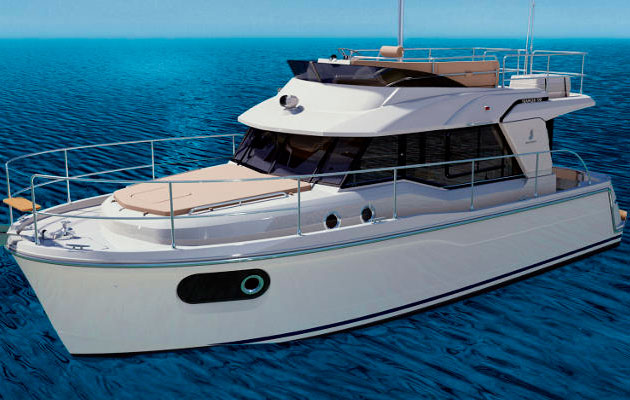 Beneteau Swift Trawler 30 part of the Beneteau London Boat Show line-up