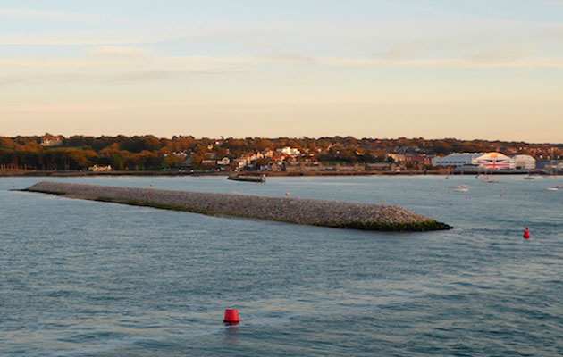Cowes Breakwater - completed rock armouring