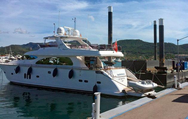 Mallorca marina Port d'Andratx expansion superyacht charter