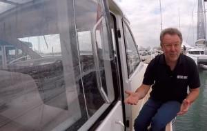 Nimbus 405 Coupé sea trial review video