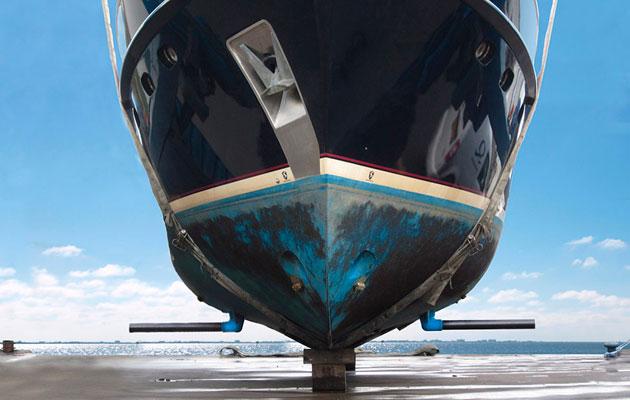 RotorSwing boat stabilisers