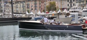 Spirit P40 from the Cannes Boat Show