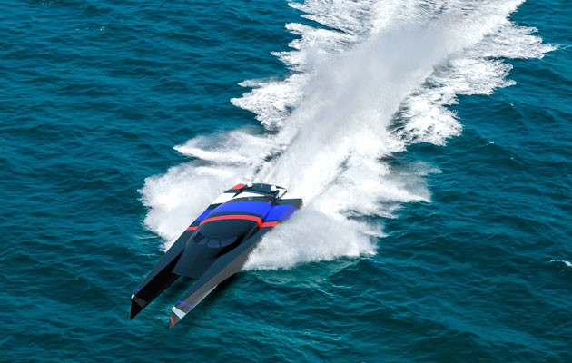 Team Great Britain to take on Atlantic speed record - Motor Boat