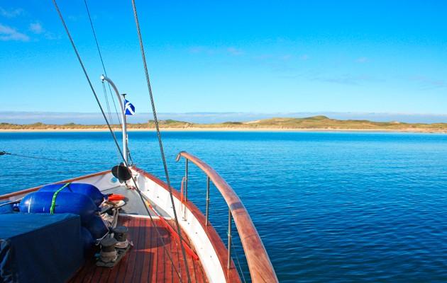 Island destinations - Coll Crossapol approach