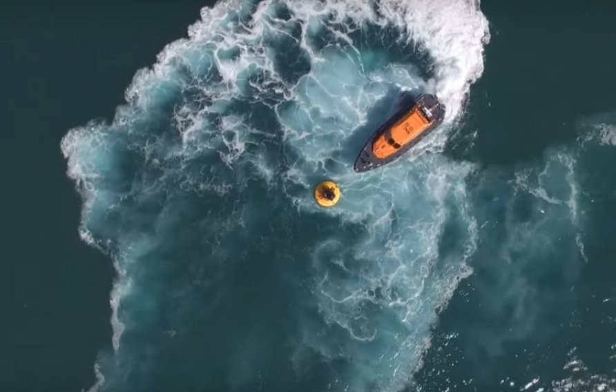 RNLI Lifeboat sea trial video