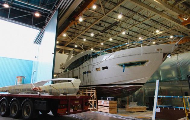 Princess 75 - leaked image, Princess Yachts job cuts, Princess Yachts fraudsters