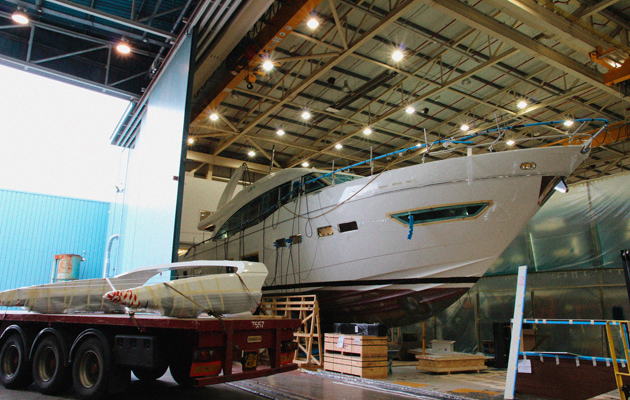Princess 75 - leaked image, Princess Yachts job cuts, Princess Yachts fraudsters