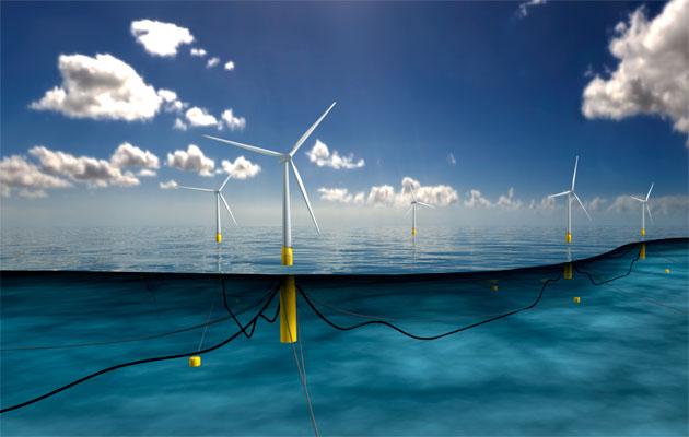 Statoil floating windfarm