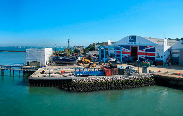 East Cowes marina site
