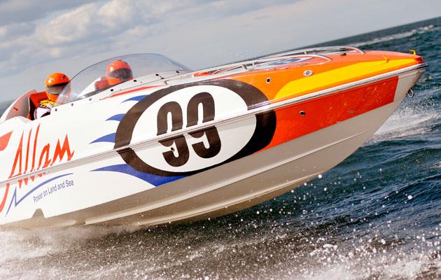 Powerboat racing review