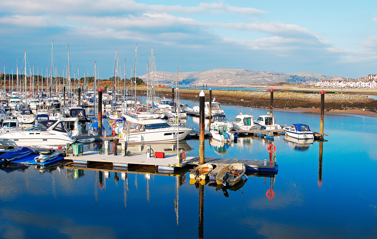 Conwy Quays Marina - Top 10 alternative boating bases