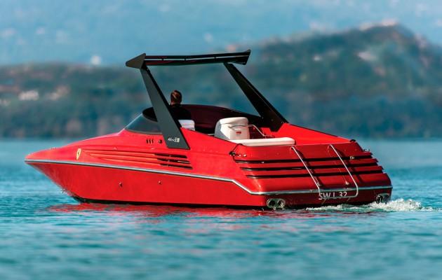 1990 Riva Ferrari 32 - transom
