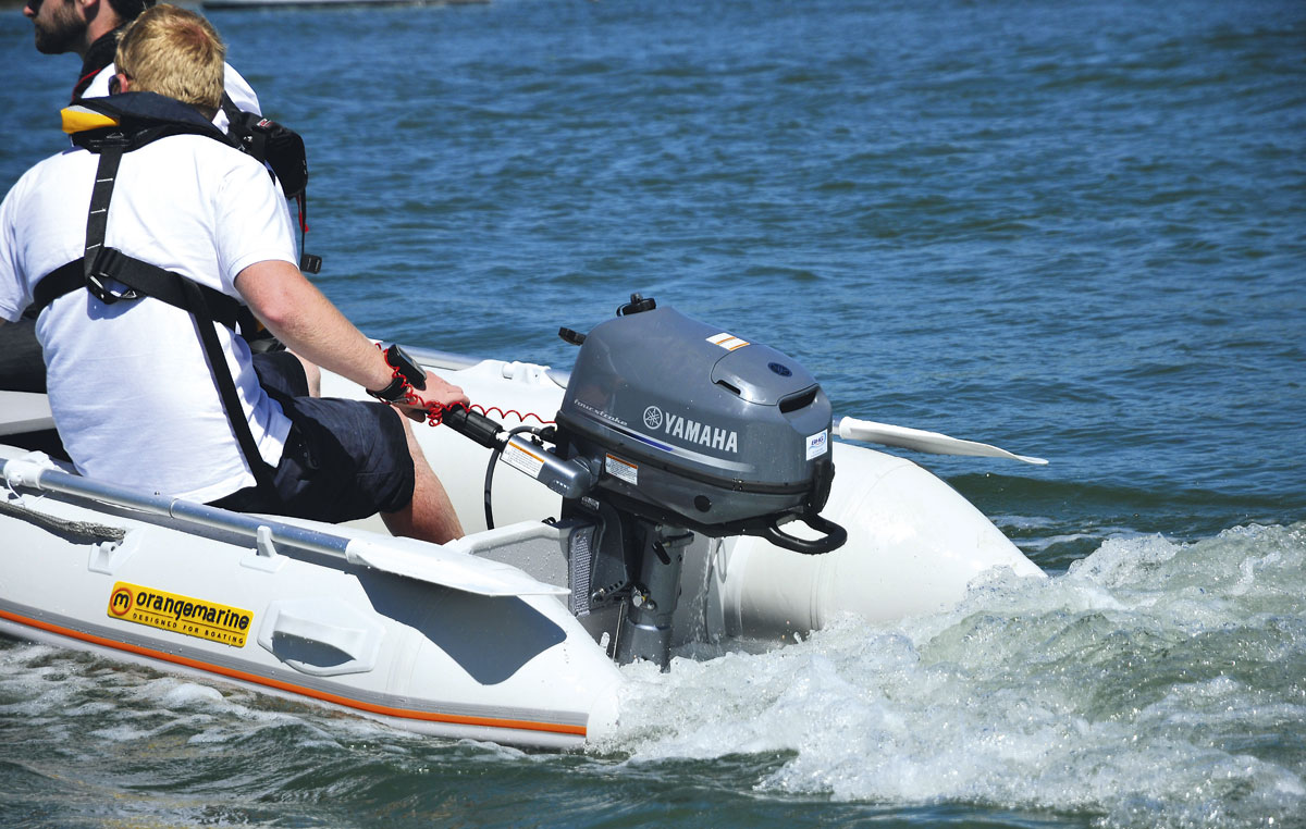 the ultimate 5hp outboard engine group test motor boat