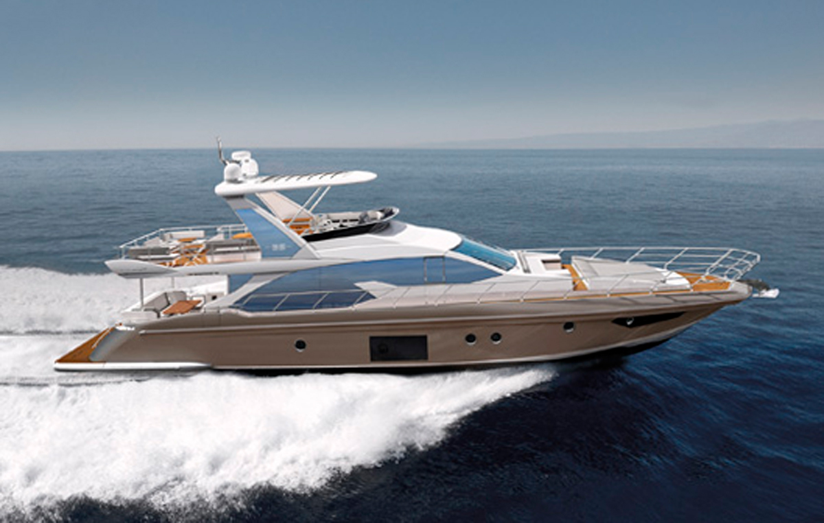 Azimut 66 Fly rendering