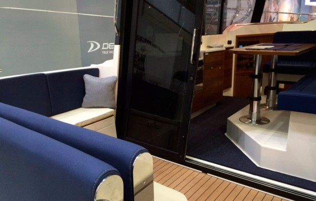 Delphia 1150 Voyage - cockpit