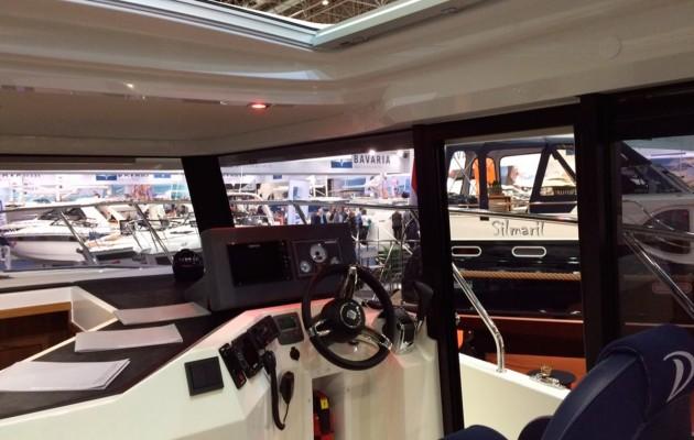 Delphia 1150 Voyage - helm
