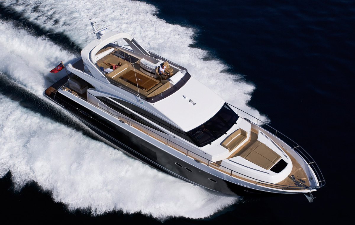 Princess 72 Motor Yacht set for London On-Water Boat Show