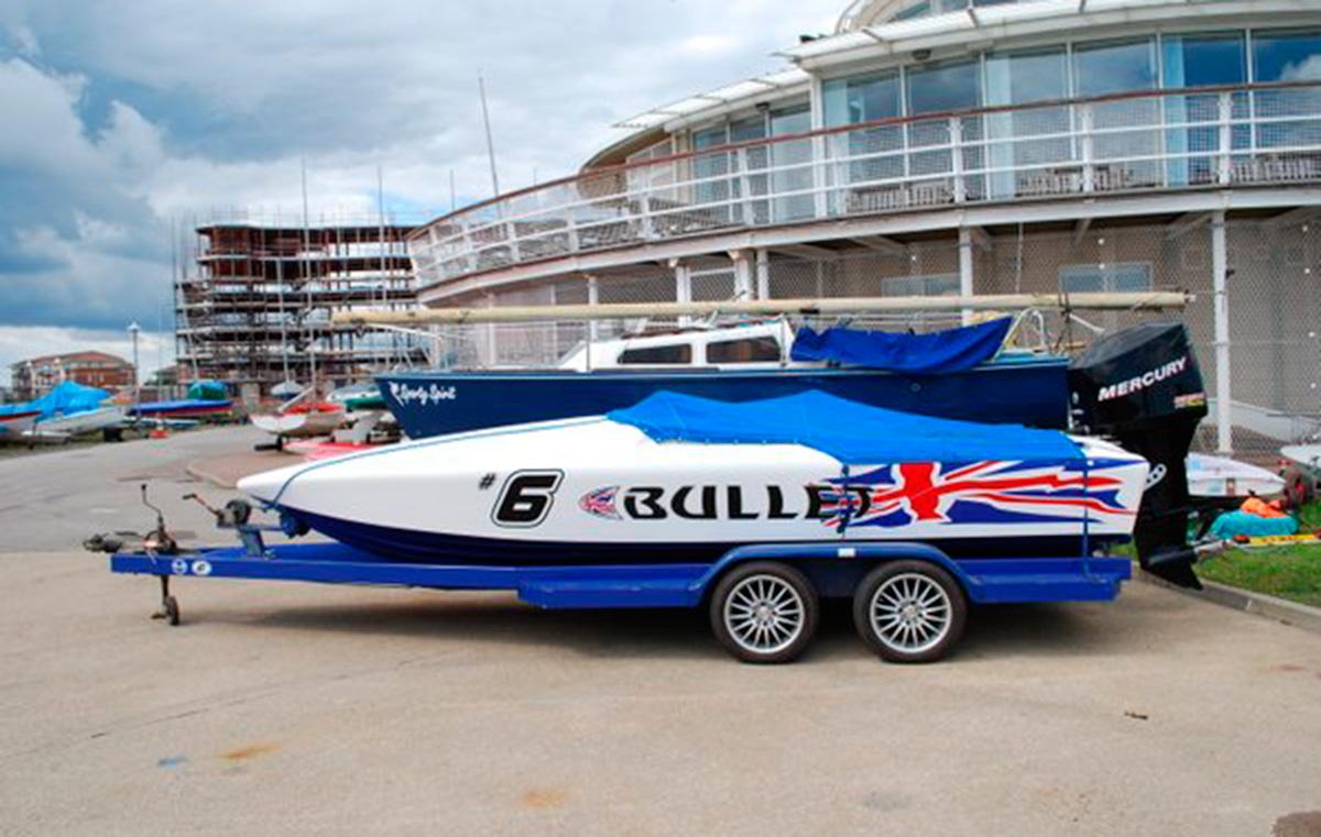JB Custom speedboat stolen