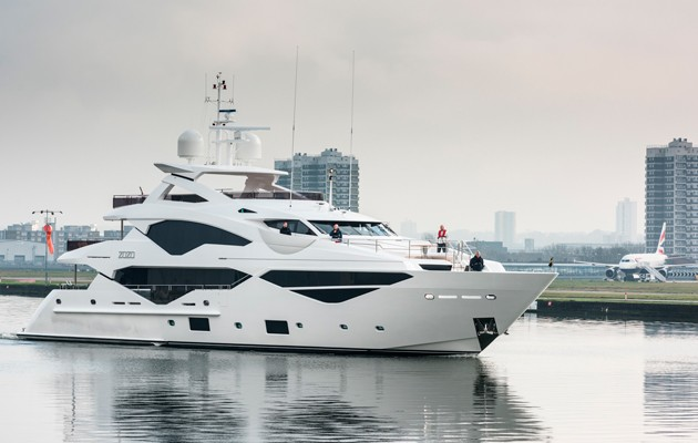Sunseeker 131 closes City Airport