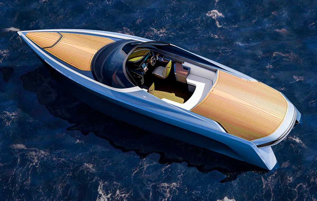 Aston Martin speedboat AM37