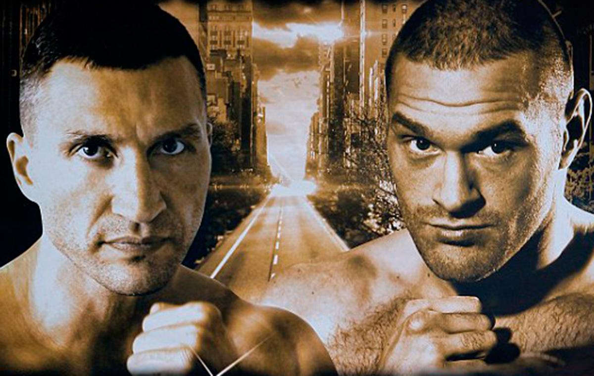 Klitschko Fury boxing poster