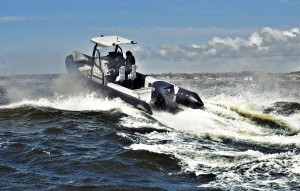 Oxe 200hp diesel outboard engine tested